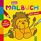 Mein erstes Malbuch (Löwe): Ab 2 Jahren - Mit farbigen Vorlagen - Christian Ortega