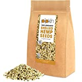 Pipkin 100% ORGANIC HEMP SEEDS 500g (SHELLED/HULLED) Hemp Seed Hearts Packed with Protein, Fibre, Vitamins & Amino Acids, Natural, Healthy Snack, Vegan & Vegetarian Friendly, Gluten-Free and Rich in Omega 3, 6 & 9 - Supports the Immune System - Fully Certified by the Organic Soil Association, Non-GMO (Shelled)