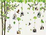 ZBYLL Wall Sticker Foto Baum Frame Wand Aufkleber Romantisches Schlafzimmer möbel Aufkleber