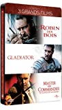 Russell Crowe - 3 grands films : Robin des Bois + Gladiator + Master and Commander [�dition Collector boîtier SteelBook]
