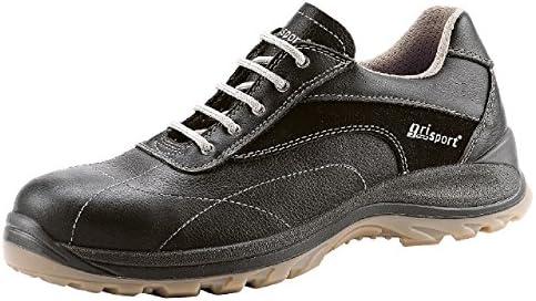 Grisport grs852 – 48 Glide zapatos de seguridad, tamaño: 48, Negro (Pack de 2)