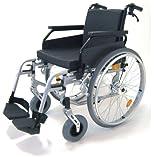 Leichtgewicht Aluminium Rollstuhl, faltbar, Faltrollstuhl, ohne Trommelbremsen