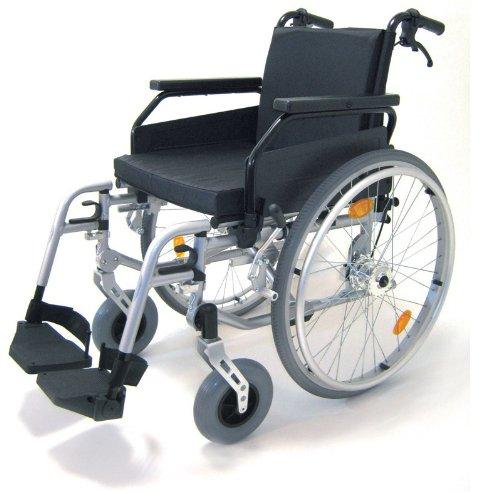Leichtgewicht-faltrollstuhl (Leichtgewicht Aluminium Rollstuhl, faltbar, Faltrollstuhl, ohne Trommelbremsen)