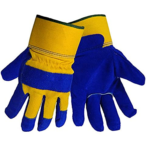 Global Glove 2805 Pile Lined Winter Split Leather Palm Glove