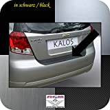 Richard Grant Mouldings Ltd. Original RGM ladekant Protección Negro para Chevrolet Daewoo Kalos Hatchback de