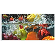 Suchergebnis auf Amazon.de für: glasbilder küche