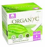 Organyc Slipeinlagen aus 100% biologischer Baumwolle, 4er Pack (4 x 24 Stück)