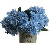 DAYAN Artificiale Ortensia Fiore albergo bouquet decorazione festa matrimonio giardino colore blu