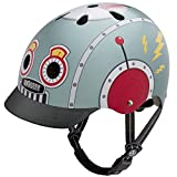 Nutcase Street-Tin Robot Casque Mixte Adulte, Multicolore, Taille : S