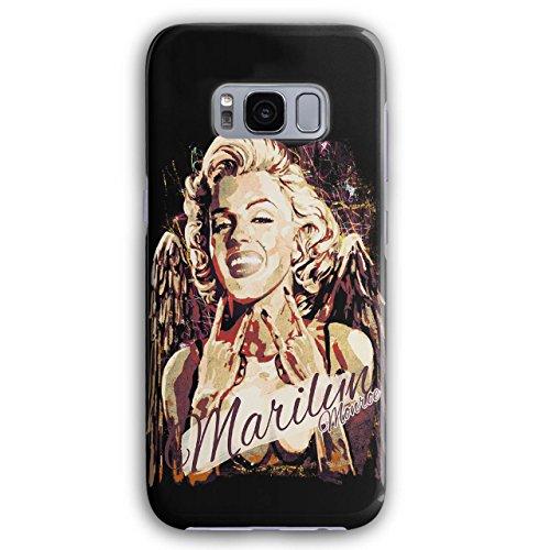 Marilyn Berühmt Berühmtheit Monroe Bühne 3D Galaxy S8 Hülle | Wellcoda
