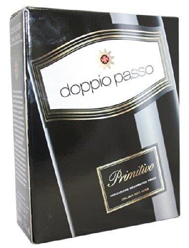Doppio Passo - Primitivo Rotwein Zinfandel halbtrocken 13% Vol. Bag-in-Box - 3,0l