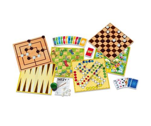 Noris-Spiele-606111237-Deluxe-Spielesammlung