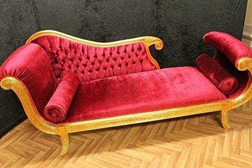 LouisXV Barock Sofa Rokoko Louis XV AlSo0318WeSkWeLi Antik Stil Massivholz. Replizierte...