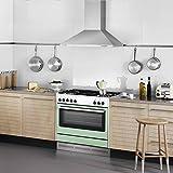Prezzo Ciarra, cappa con aspiratore, da cucina, 90cm, in acciaio INOX (argento)