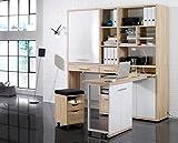 MINIOFFICE Maja Komplettes Arbeitszimmer - Büromöbel Komplett Set Modell 2016