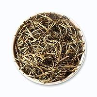 Teafloor Silver Buds Darjeeling White Tea | Natural Organic Tea | Maintains Glow of Skin | Low Caffeine | North Tukvar Garden Tea, Sikkim | Long Leaf Tea |Tea Weight :100g/3.5 oz (50 Cups)