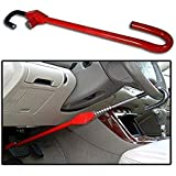 Amikan Car Steering Lock || Pedal Lock || Anti Theft Lock with 2 Keys || Universal for All Cars