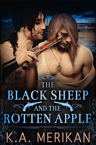 Buchseite und Rezensionen zu 'The Black Sheep and the Rotten Apple (gay historical romance) (English Edition)' von K.A. Merikan
