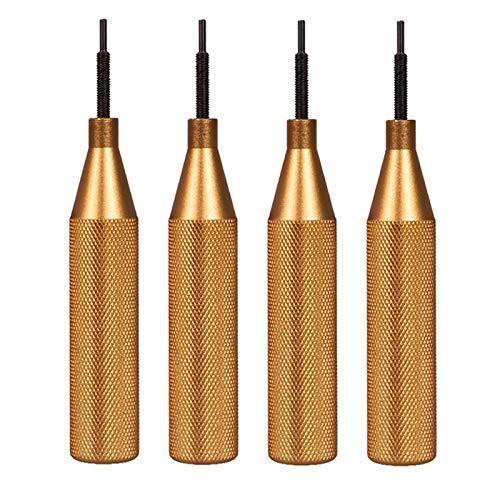 Liseng Werkzeug zum ?Ffnen der ECU bdeckung für Kess V2 V5.017 Ktag V7.020 Galletto 4 Fgtech V54 Werkzeug zum ?Ffnen der ECU bdeckung 4 StüCke Gold
