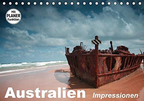 Australien. Impressionen (Tischkalender 2018 DIN A5 quer): Australiens Schönheit zwischen Strand und Buschland (Geburtstagskalender, 14 Seiten ) ... [Kalender] [Apr 01, 2017] Stanzer, Elisabeth