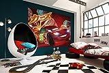 Komar Disney Fototapete Cars Neon , 254 x 184 cm, 4-teilig