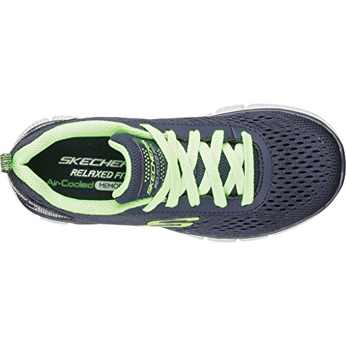 Skechers Equalizer 2.0 Settle The Score, Sneakers basses Fille Bleu
