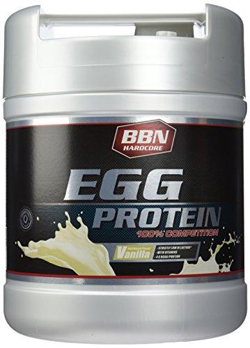BBN Hardcore 100% Egg Protein Vanille Dose, 1er Pack (1 x 1,9 kg)