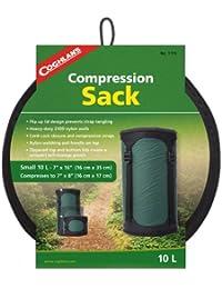 Coghlans 10L Compression Sack - Funda de compresión para saco de dormir, color verde, talla UK: 10 litros
