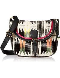 Kanvas Katha Women's Sling Bag (Multicolor) (KKSLJQ027)