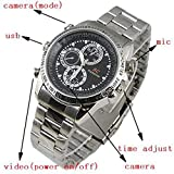 spydo Jasoos Imported from Taiwan Steel Wrist Watch with Hidden 720P Spy Camera/Video/Audio/Image