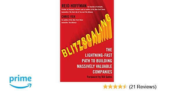 Buy Blitzscaling: The Lightning-Fast Path to Building