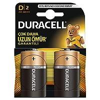 Duracell Lr20/Mn1300 Basic D Boy Pil, 2'li, Bakır/Siyah