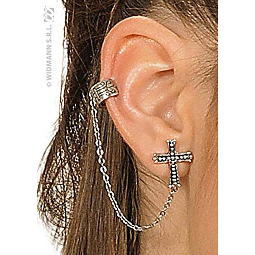 Gothic Cross Earrings Gothic Jewellery for Fancy Dress Costumes Accessories Accessory
