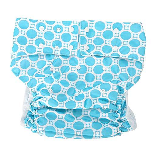 Windelhosen gegen Inkontinenz für Erwachsene, Schutz Unterwäsche waschbar, wiederverwendbar, Inkontinenz-Hygieneartikel für ältere Menschen für Taille Größe 65~135 cm(X32)