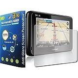 3 x Tomtom PRO GuarmorShield pathname 7150 5150 TRUCK LIVE GPS de anti-antirreflectante-acabado mate Protector de pantalla de bicicleta (sin cortar, paquete por GUARMOR)