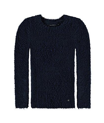 Marc O' Polo Kids Pullover 1/1 Arm, Felpa Bambina, Blau (Navy Blazer|Blue 3105), 10 Anni