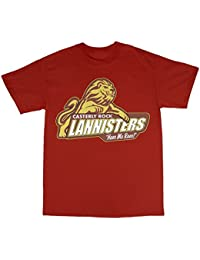 Casterly Rock House Lannister T-Shirt 100% Coton