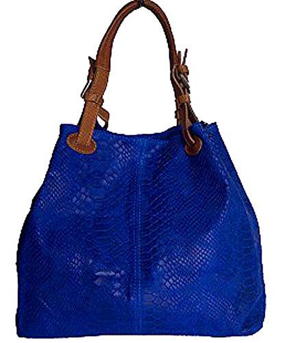 G&G PELLETTERIA , Sac pour femme à porter à l'épaule bleu ciel