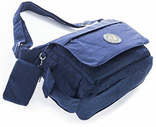 Big Handbag Shop - Borsa a tracolla donna Nero (nero)