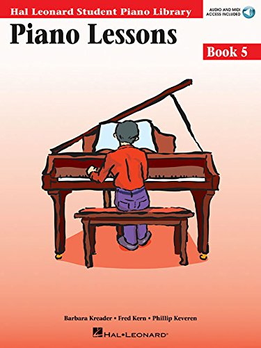 Piano Lessons Book 5 - Book/CD Pack: Hal Leonard Student Piano Library (Hal Leonard Student Piano Library (Songbooks))