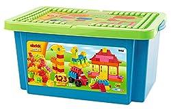 Ecoiffier Abrick Box, Multi Color (123 Piece)