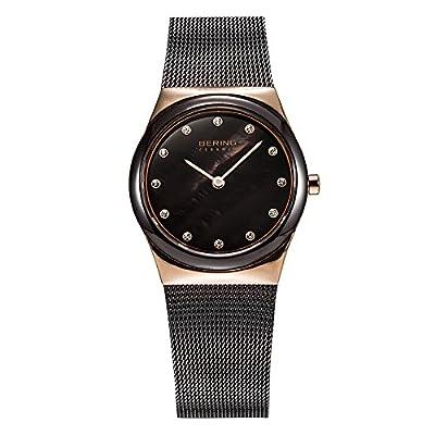 BERING Reloj Analógico para Mujer de Cuarzo con Correa en Acero Inoxidable 32230-262 de BERING