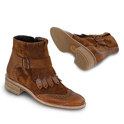 Paul Green 9201-001, Stivali donna nero nero marrone medio