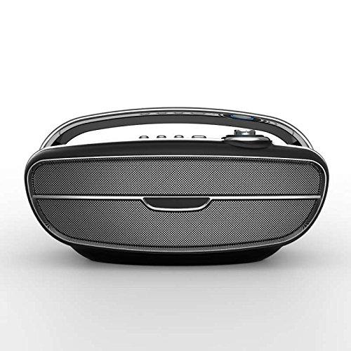 Bluetooth Lautsprecher, Dual-Treiber, HD Audio, FM Freisprechen mit 36-Stunden Spielzeit & Dual-Treiber Wireless Speakers mit Mikrofon und Reinem Bass wireless speaker für Echo Dot, iPhone, iPad, Samsung, Android