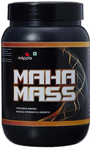 GRF Ayurveda Maha Mass Whey Protein Supplement - 300 g (Chocolate)  available at amazon for Rs.331