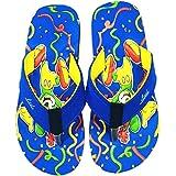 Jordan Cool Joyfull Mickey Mouse Printed Blue Flip Flop/Slippers for Kids (Boys & Girls)