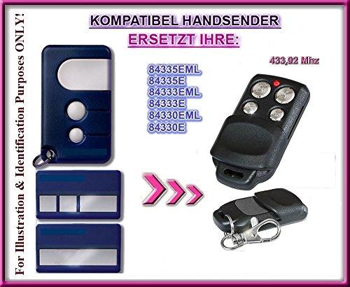 Motorlift 84330EML, 84333EML, 843334EML, 84335EML-old kompatibel handsender, ersatz sender, 433.92Mhz rolling code. Top Qualität ersatzgerät!!!