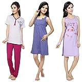 Flamingo Lingerie Womens Cotton Night Wears_0119