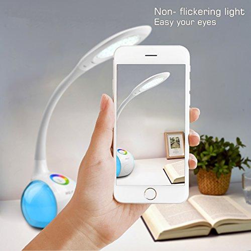 Lámpara LED cuello cisne con luz regulable WILIT®