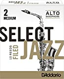 Select Jazz filed Blätter für Altsaxophon Stärke 2 Medium (10 Stück)